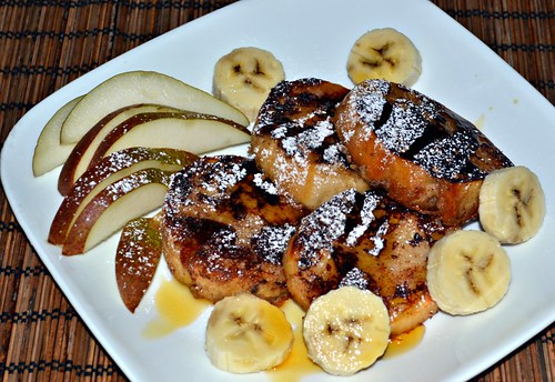 Coconut Nog French Toast