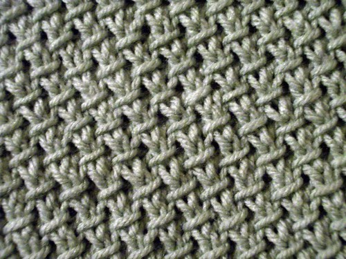 Seed Stitch Knitting By Judy : Purl-Twist Fabric The Walker Treasury Project
