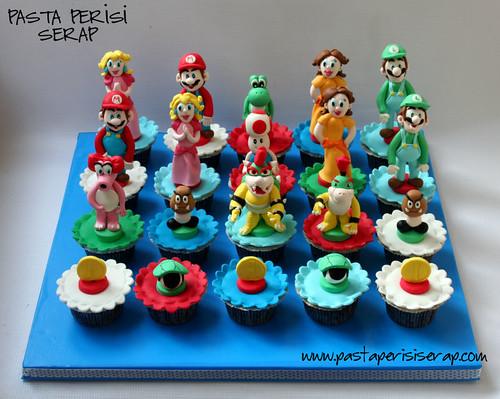 mario cupcake