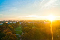 The Oval at Sunrise (The Ohio State University)