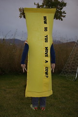 laffy taffy costume, back