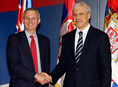 Minister Lidington visiting Serbia (UK in Serbia) Tags: europe eu embassy british belgrade minister tadic stefanovic jeremic djelic sutanovac lidington ukiserbia