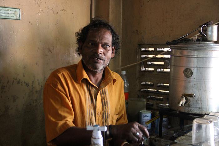 Tea Man, Jaffna, Sri Lanka