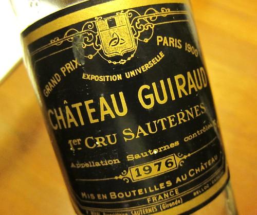 1976 Chateau Guiraud