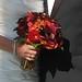 calla lilies, fall roses, dahlias