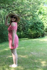 11 Outfit - Urban Outfitters polka dot dress