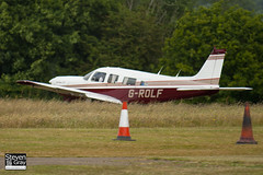 G-ROLF - 32R-8113018 - Private - Piper PA-32R-301 Saratoga SP - Panshanger - 110522 - Steven Gray - IMG_6416