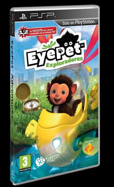 PSP_EyePet_EXPLORADORES_Packshot_3D