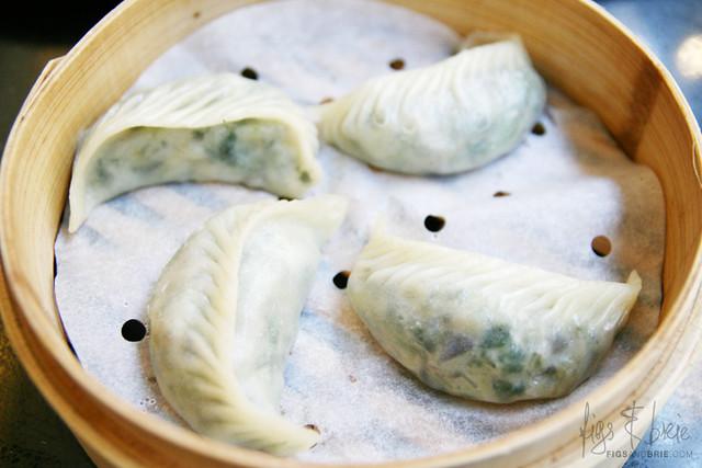 Steamed Vegetarian Jiao Ze, Din Tai Fung