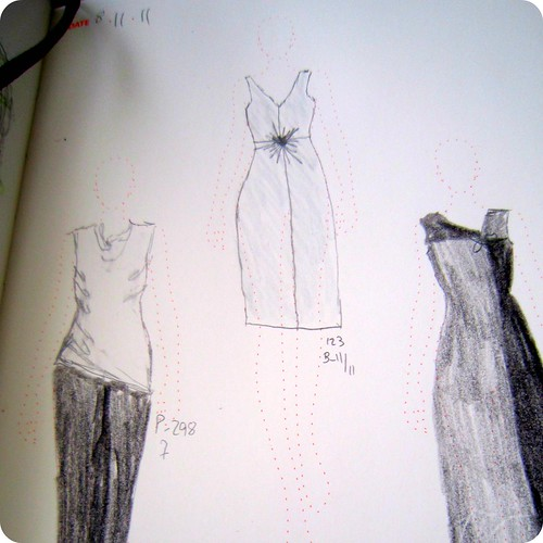 fashionary drawings