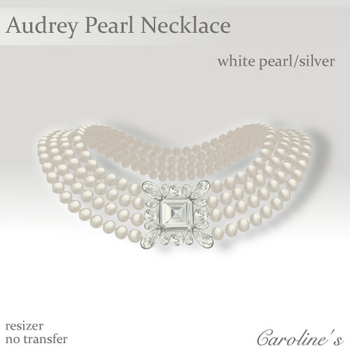Caroline's Jewelry Audrey Pearl Necklace