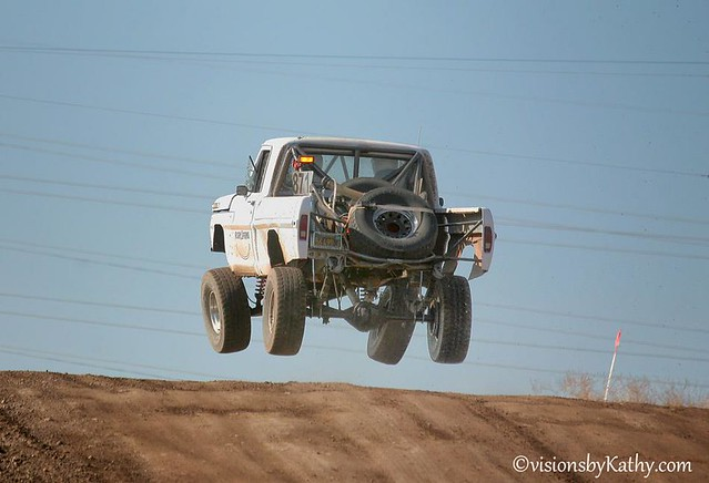 Trade Built F100 Off Road Race Truck For The Right Bronco