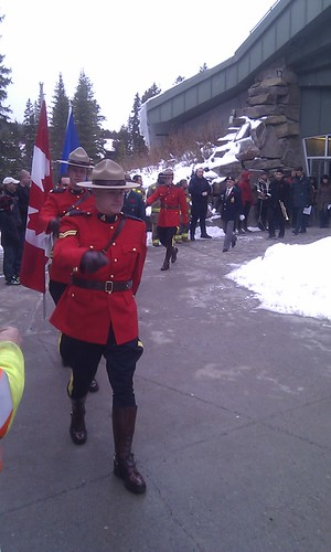 Honour guard Remembrance Day Lake Louise by dougsymington