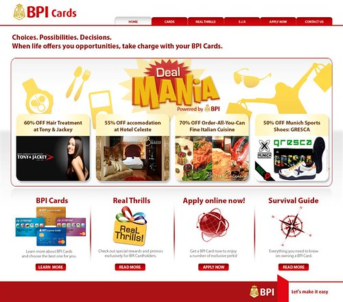 BPI's new website - BPI Cards