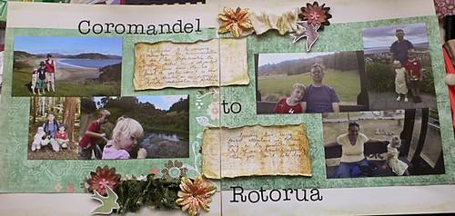 Coromandel to Rotorua