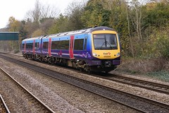 170309 Ferriby (JohnGreyTurner) Tags: uk train br yorkshire transport rail railway 170 dmu ferriby class170