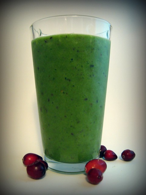 Holiday Red and Green Smoothie