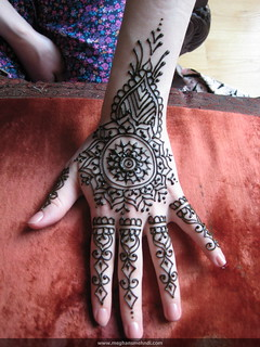 Bridesmaid mehndi