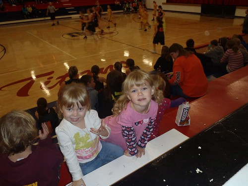 Morgan's basketball game!