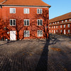 The shadow of victory at the Kastellet the Citadel (B℮n) Tags: park houses shadow red castle monument public copenhagen geotagged denmark site construction topf50 europe shadows citadel military ministry historic ramparts danish area walls fortification bastion topf100 complex defence cultural kastellet starshaped 100faves 50faves hjemmeværnet forsvarets auditørkorps geo:lon=12594763 geo:lat=55691553 341yearold