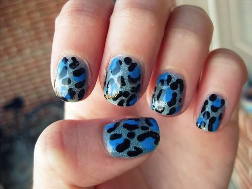 Leopard's got the blues.