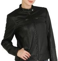 Cruzer Women's Cowhide Motorcycle Leather Jacket