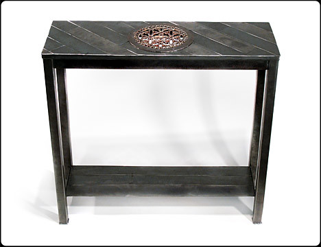 Eavesdropper Metal Console Table