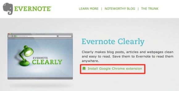 Evernote Clearly | Evernote Corporation
