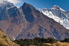 Everest View Hotel, Mt Everest (PaiviSvanback) Tags: nepal trek hiking everest 2011 canon7d vaellusmatka ebc2011 everestbasecamptrek2011