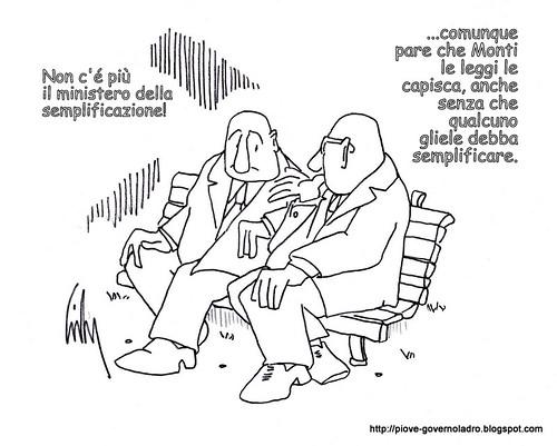 Calderoli Disoccupato by Livio Bonino