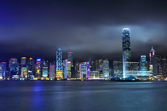 3 Victoria Harbor HK (Vincent_Ting) Tags: hk building night hongkong harbor nightscape   victoriaharbor