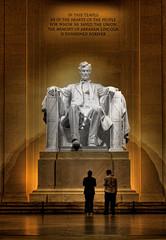 Washington D.C. - Lincoln Memorial Abraham Lincoln 04 (Daniel Mennerich) Tags: niceshot canon dslr eos hdr hdri spiegelreflexkamera slr washingtondc usa