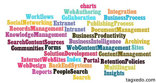 SharePoint Tag Cloud-Business