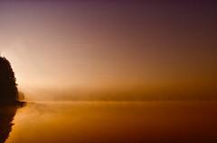 Twilight (warmianaturalnie) Tags: light sun mist lake color colour water fog sunrise twilight słońce kolor warmia jezioro świt