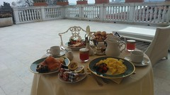 Breakfast on our [huge] terrace (whatleydude) Tags: v