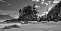 San Josef Bay Monochrome (gavgristle) Tags: bay san josef