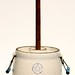 110. Stoneware Butter Churn