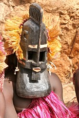 The Goiter Mask (**El-Len**) Tags: africa mask funeral westafrica ritual mali dogon dama woodcarving gettyimages goiter tirelli