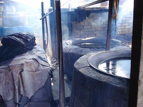 Kota Bahru - boiling wax