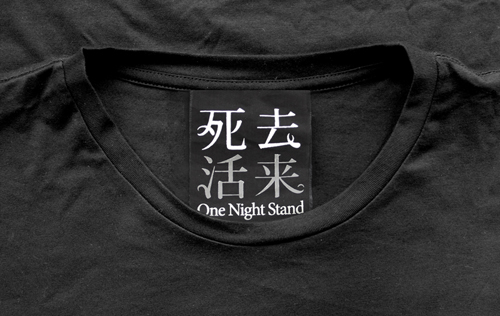 ϟ ϟ 身穿【死去活來One Night Tee】labelϟ ϟ