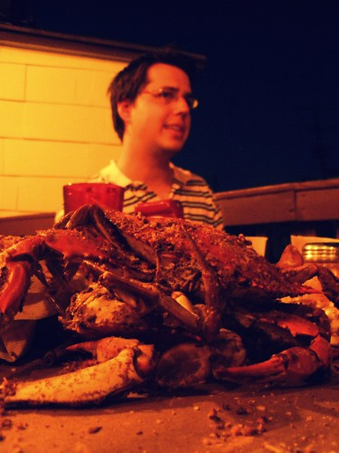 brad and crabs