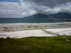 Eigg - white beaches