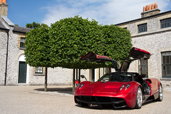 Huayra. (Alex Penfold) Tags: auto camera red cars alex sports car sport mobile canon photography eos photo cool flickr image awesome flash picture super spot exotic photograph spotted hyper supercar spotting numberplate exotica sportscar sportscars supercars pagani penfold spotter 2011 huayra hypercar 60d hypercars alexpenfold