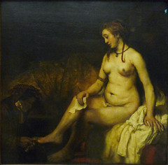 Rembrandt, Bathsheba at her bath