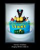 Norie's Kitchen - Angry Birds Cake 6 (Norie's Kitchen) Tags: birthday cake philippines custom goldeneggs angrybirds norieskitchen