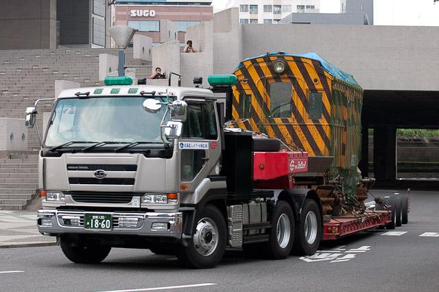 函館市電 排4号 (旧東京市電ヨヘロ1形)