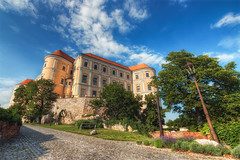 The other side of the Chateau in Mikulov (Miroslav Petrasko (blog.hdrshooter.net)) Tags: trees sky clouds canon other republic czech side tripod sigma chateau 1020mm hdr republika ceska mikulov photomatix 450d theodevil hdrshooter