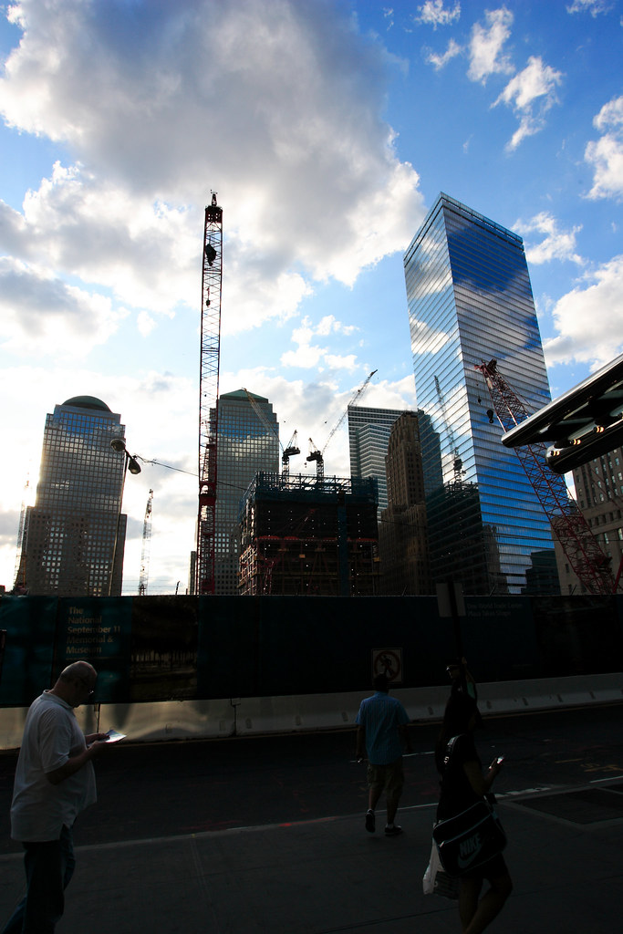 Downtown New York - Ground Zero