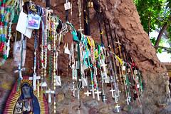 Devotional Area in Chimayo, NM (Heritage Hotels & Resorts) Tags: newmexico santafe lowrider chimayo sacredsite santuario religiousart redchile spanishcommunity heritagehotelsresorts hotelchimayo