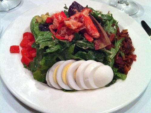 Andrea's Lobster Cobb Salad from Circa, Memphis, Tenn.